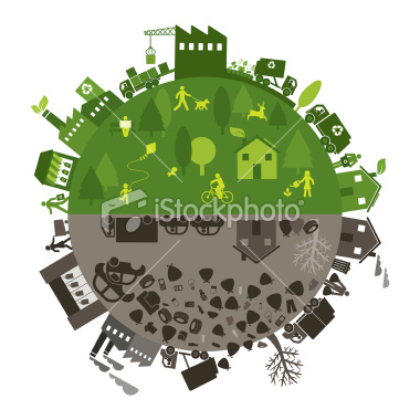Image of Recycling vs Landfill
