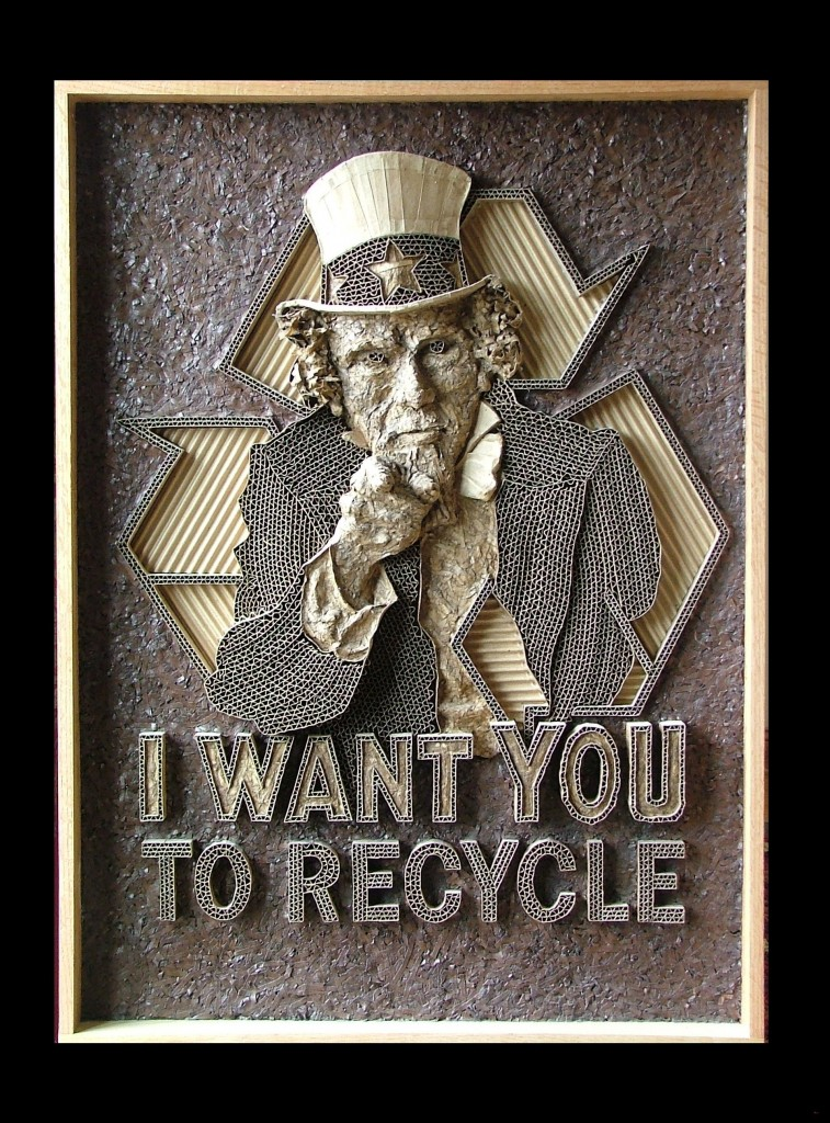 Uncle Sam Recycle by Mark Langan