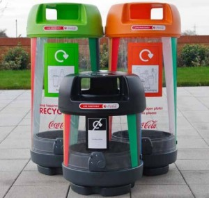 London 2012 Recycle Bins | Zero Waste Bins