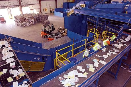Pratt Industries Recycling in Denton, TX | Material Recovery Facility