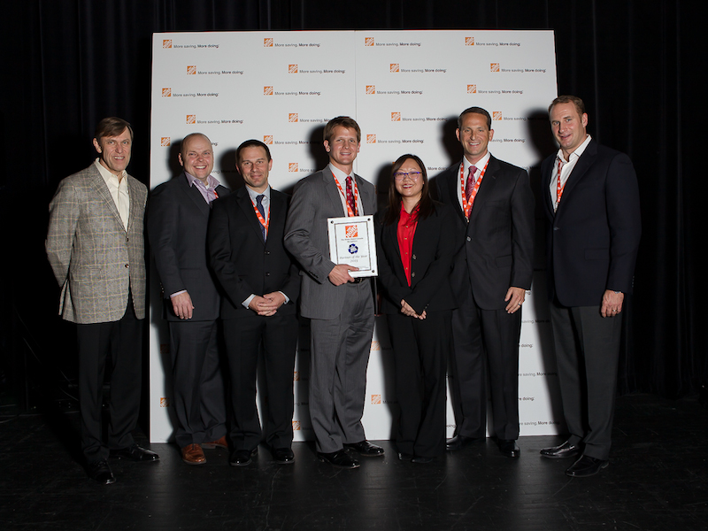 Pratt Industries Home Depot Supplier of the Year