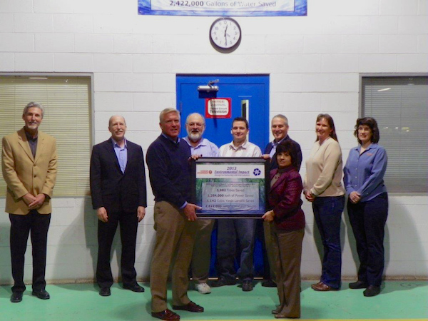 Pratt Industries Honors Osram Sylvania for Sustainability