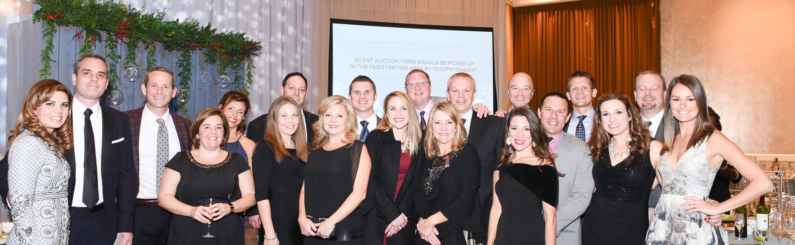 The team at Pratt Industries' Specialty Division enjoyed an evening of fundraising for the Captain Planet Foundation, hosted by president of the division, Chris Stanton (third from right),