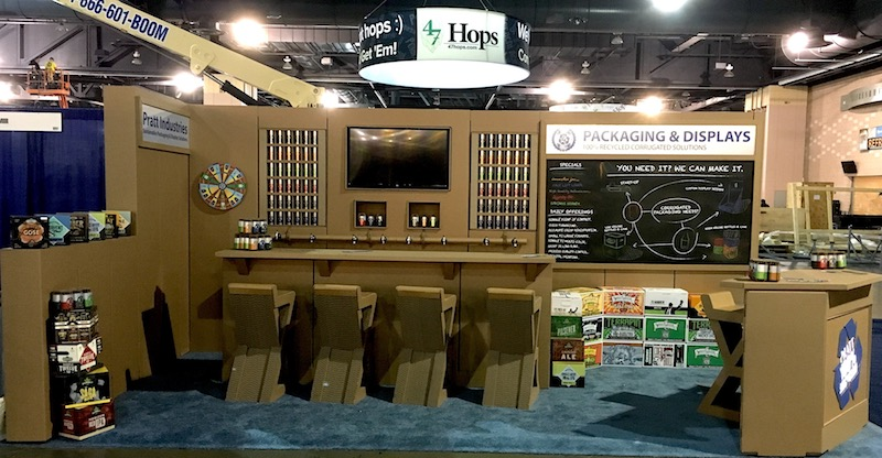 Pratt Industries Craft Brewers Conference Booth