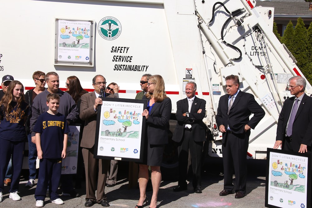 Don't Litter, Recycle Winners Announced in State Island