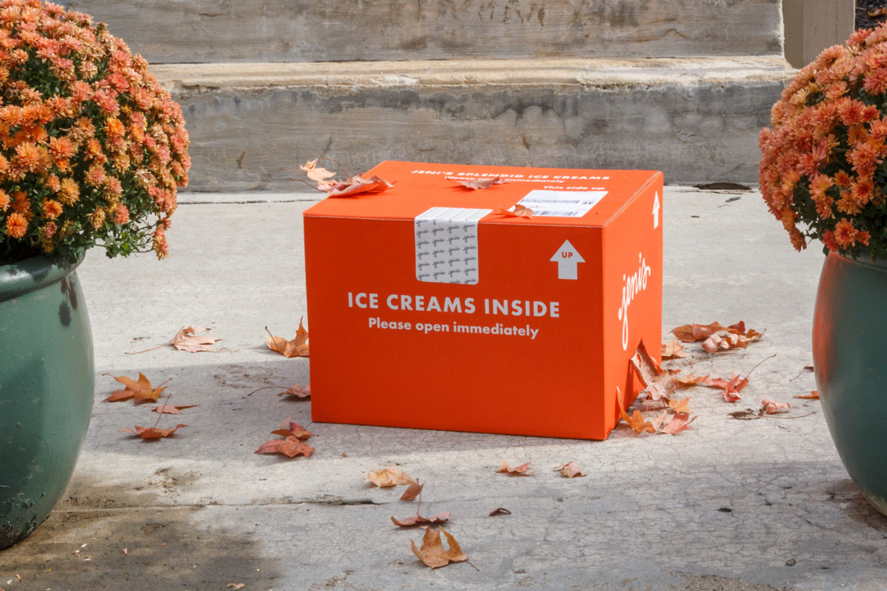 Jeni's Splendid Ice Cream Packaging