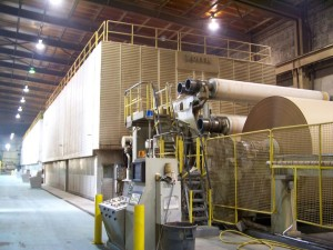 Image of Pratt Industries Paper Machine at NYC Recycled Paper Mill
