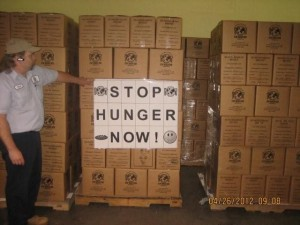 Supplies to Load for Stop Hunger Now!