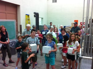 Pratt Industries Donates Boxes to Egg Drop Event at MSU Grandparents University