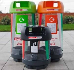 London 2012 Recycle Bins   Zero Waste Bins