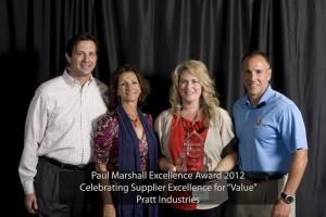 Pratt Industries Awarded Bama Foods Supplier Excellence Award for Value