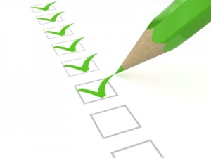 Image of Green Checklist by iStockPhoto.com