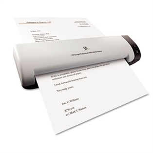 HP Scanjet Professional 1000 Mobile Scanner   PrattPlus.com
