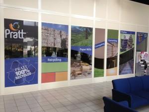 Pratt Industries Display Division Tech Center Windows