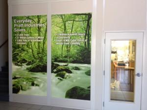 Pratt Industries' Tech Center Window Panels
