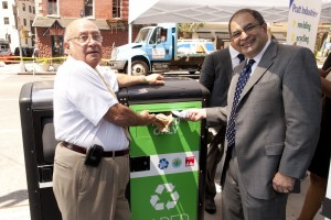 Pratt Industries Recycling Division Donates Recycling Bins to NYC