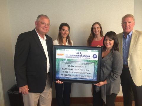 DHL Global Mail Receives Sustainability Award from Pratt Industries