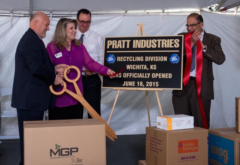 Pratt Opens Recycling Facility in Wichita, KS