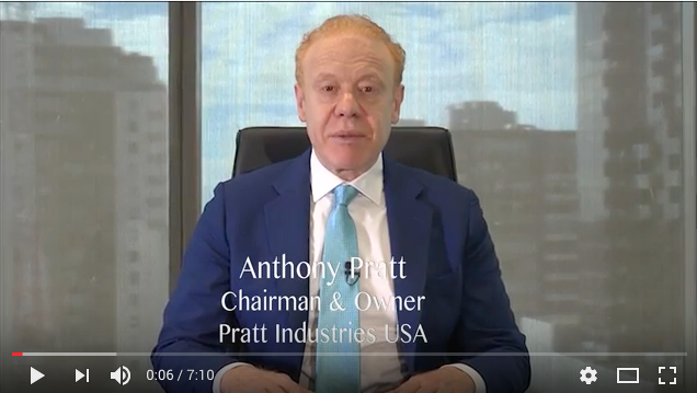 Anthony Pratt RISI North American Packaging CEO of the Year