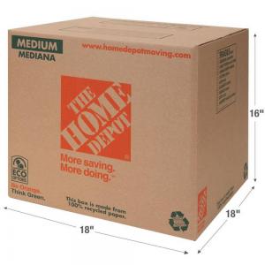 The Home Depot Moving Box   Pratt Industries