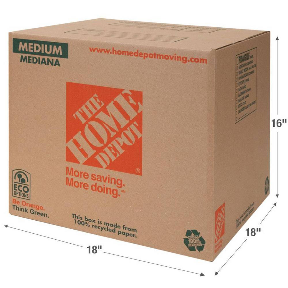 The Home Depot Moving Box | Pratt Industries